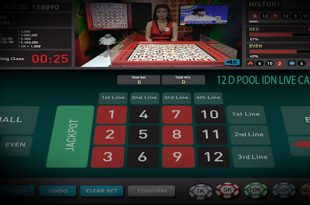 Main IDN Live Casino 12 D Pool